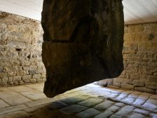 Hanging Stone House Completed - Hanging Stones