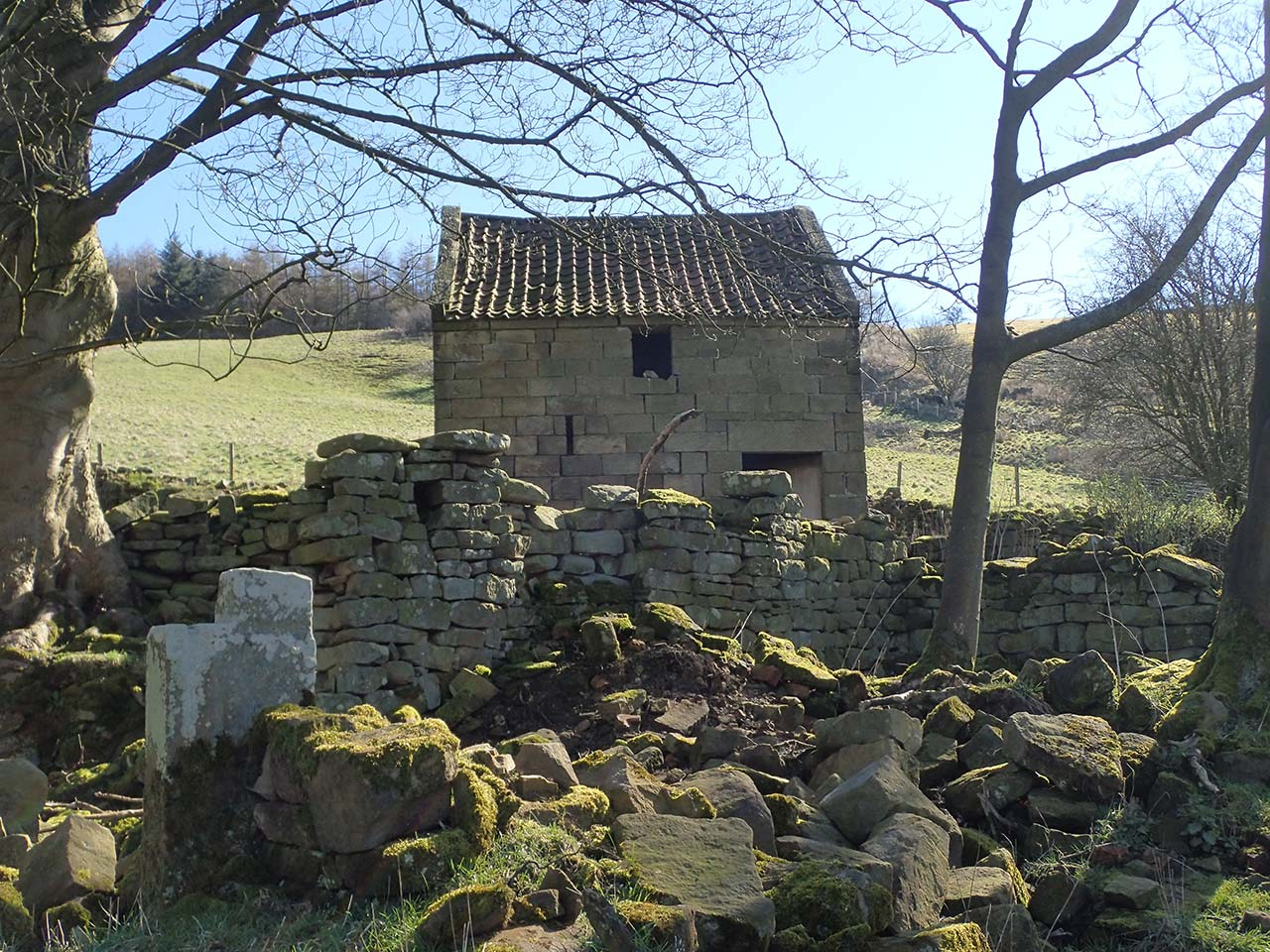 Hanging Stone House Site