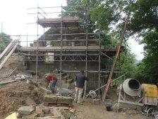 Hanging Stone House Construction