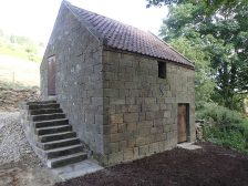 Hanging Stone House Completed