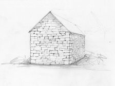 Bogs House Drawing